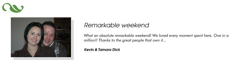 Kevin & Tamara Dick
