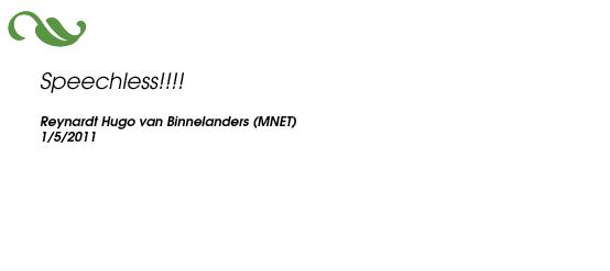 Reynardt Hugo van Binnelanders (MNET)